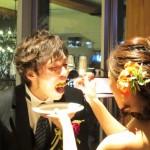 ハムちゃん結婚式 ファーストバイト