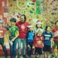 キッズスクールのみんなでクリスマスコンペをやりました。